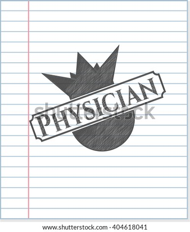 Physician penciled