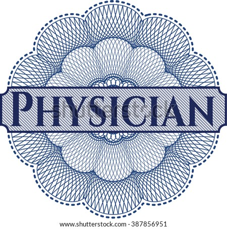 Physician rosette