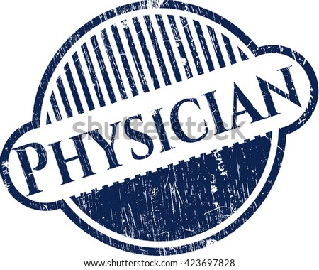 Physician rubber stamp
