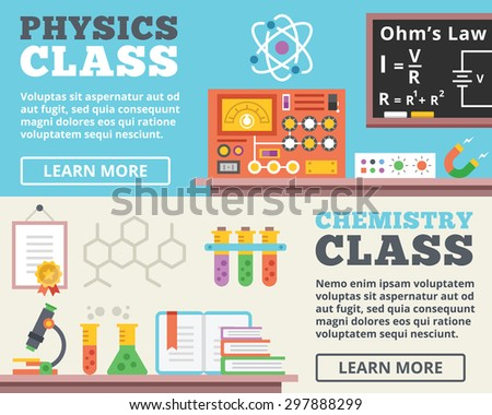 physics class and chemistry