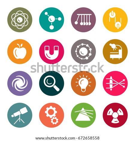 Physics icons