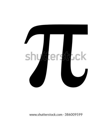 Pi Sign Vector