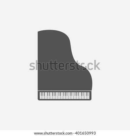 piano icon piano icon vector