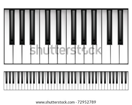piano keys vector - download free vector art, stock graphics & images