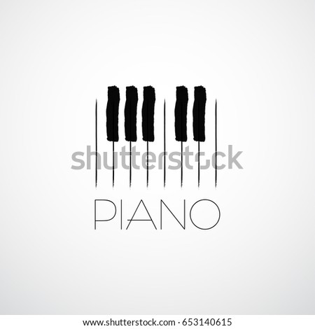 piano vector illustration music