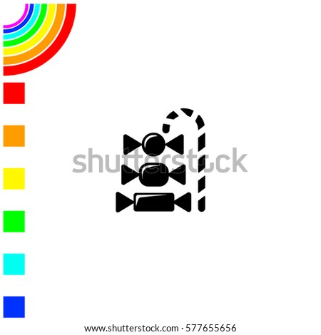 pictogram candy icon