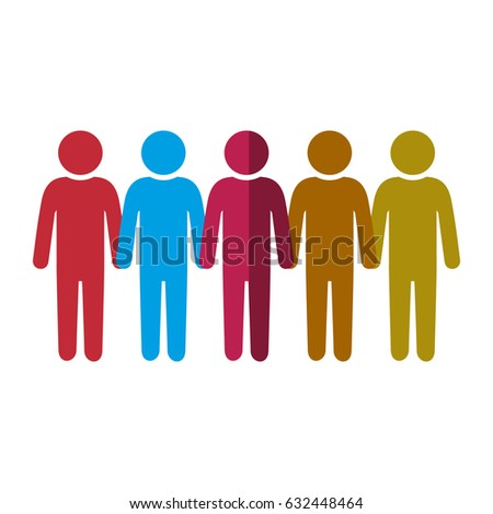 pictogram people icon