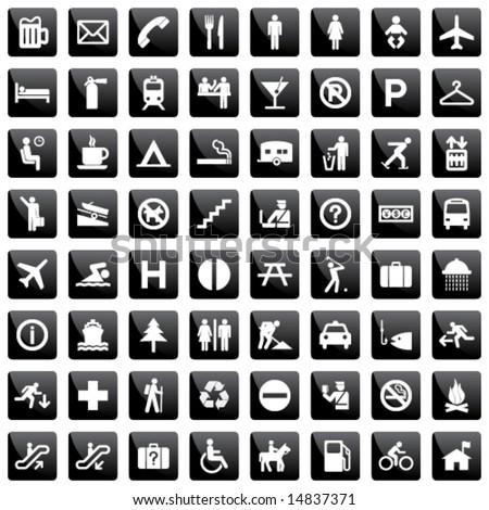 pictogram set