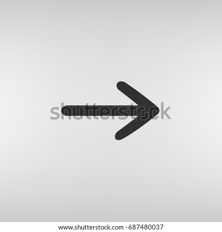Pictograph of arrow #687480037
