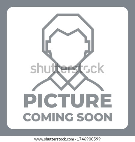 Picture coming soon image icon ストックフォト ©