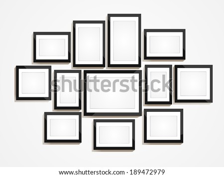 picture frame vector photo art