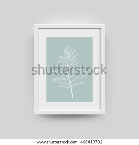 Vector Images Illustrations And Cliparts Picture Frame With