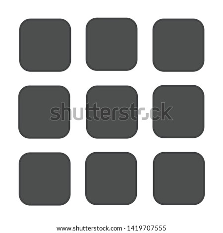 Picture gallery icon. flat illustration of Picture gallery vector icon for web