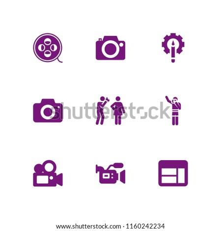 picture icon 9 picture set
