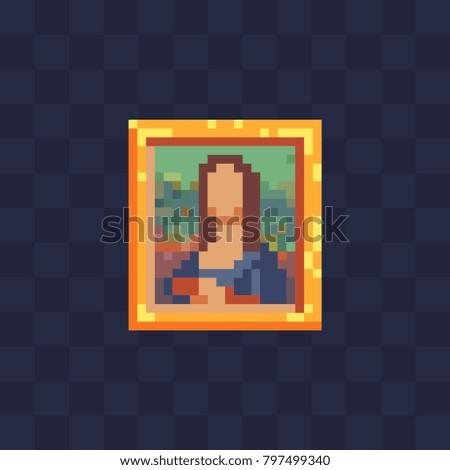 picture icon pixel art 8 bit