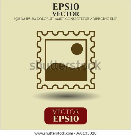 Picture icon vector illustration