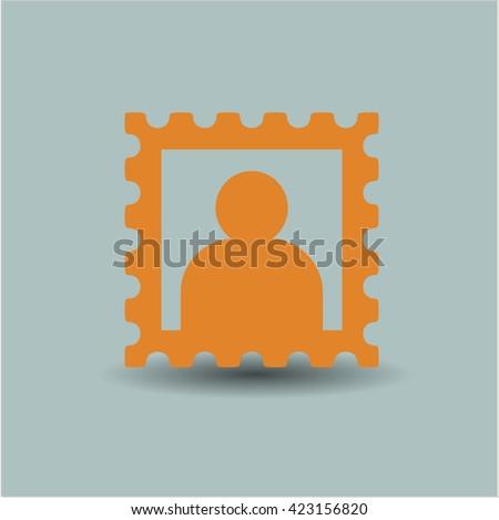 picture icon vector symbol flat eps jpg app web concept website