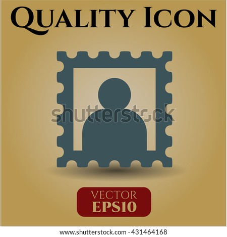 picture icon vector symbol flat eps jpg app web concept website