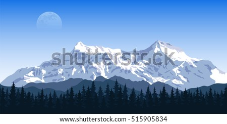 picture of a mountain range