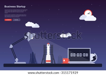 picture of a space rocket ready