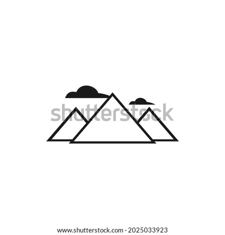 picture of three mountains and