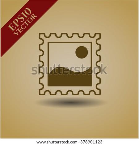 Picture vector icon or symbol