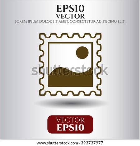 Picture vector symbol
