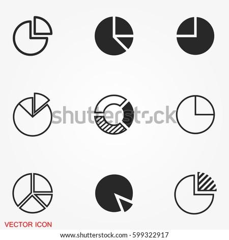 Pie chart icons