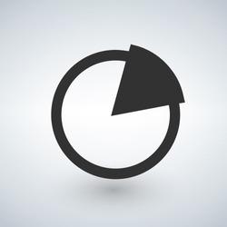 Pie Chart Vector Icon