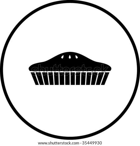 pie symbol stock vector illustration 35449930 shutterstock
