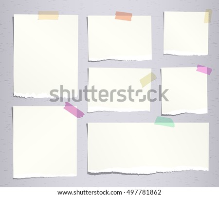 Free Notebook Paper Vector - Download Free Vector Art, Stock