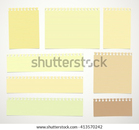 Square Lined Notebook Paper Background Download Free Vector Art – Yellow Notebook Paper Background