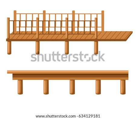 pier is an illustration of