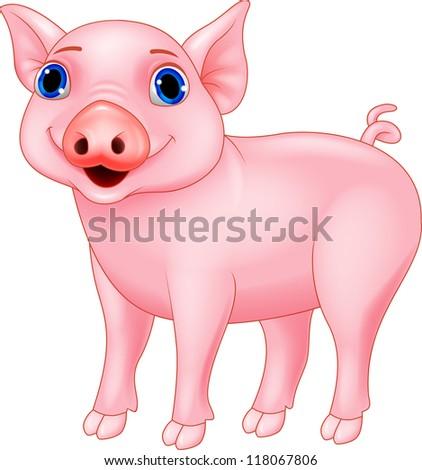 Pig cartoon #118067806