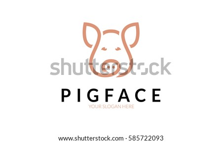Peppa pig family download free vector art stock graphics images pig face logo voltagebd Images