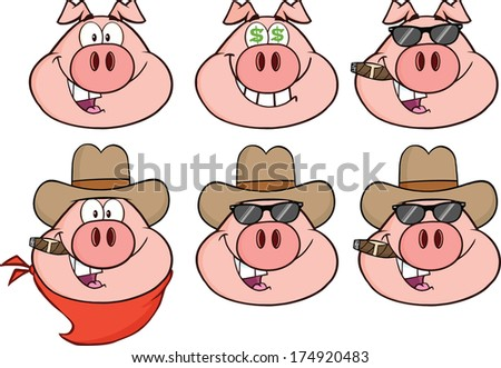 Male pig cartoon characters - photo#17