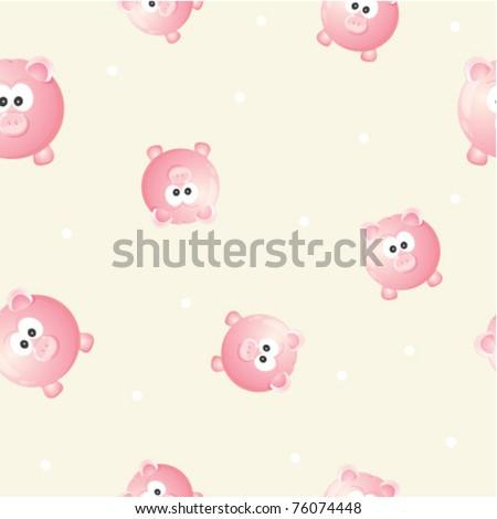 Piggy seamless