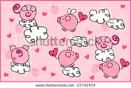 pigs on the wing