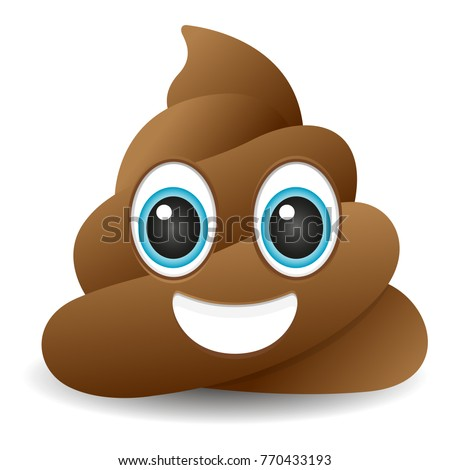 pile of poo emoji icon object