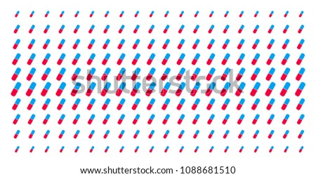 pill icon halftone pattern