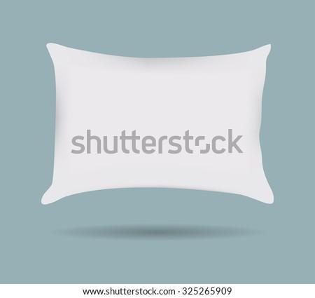 Pillow pattern Decorative pillowcase. Isolated on white. Interior design element. Vector illustration #325265909