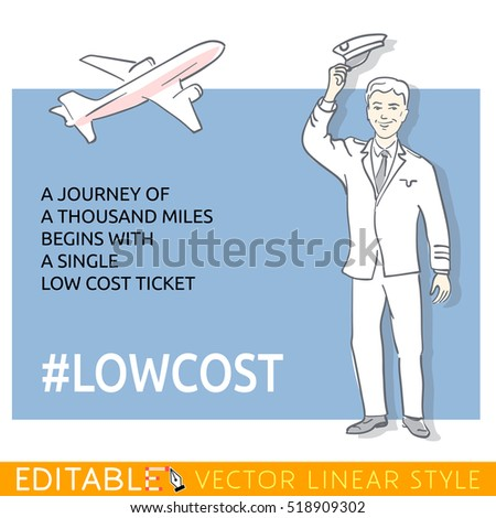 pilot about the low cost ticket
