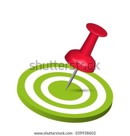 Pin Hitting A Target