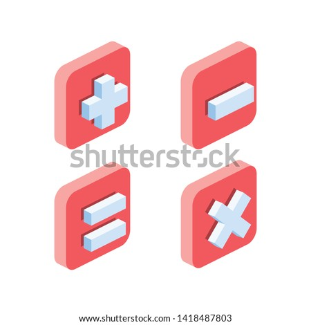 Pin location, map marker GPS, pointer. Vector 3d isometric color icon new flat style. Creative illustration, idea for infographics.