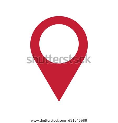 pin map navigation localization icon image