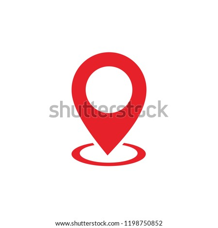 Pin Maps Location vector
