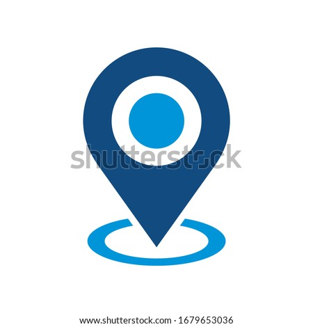 Pin Point Logo can be used for company, icon, and others.