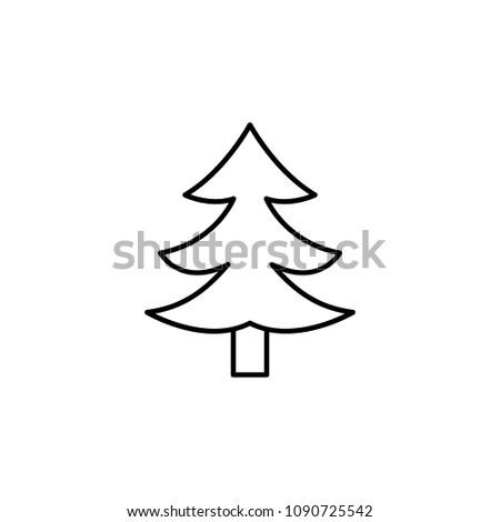 pine icon element of travel