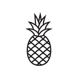Pineapple symbol icon
