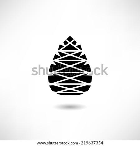 Pine Cone clip art Free Vector / 4Vector